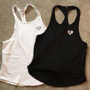 TWO Women's best loose fitting workout tanks